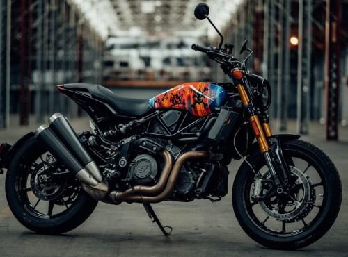 Sztuka w służbie motoryzacji - Indian FTR 1200 Artist Series