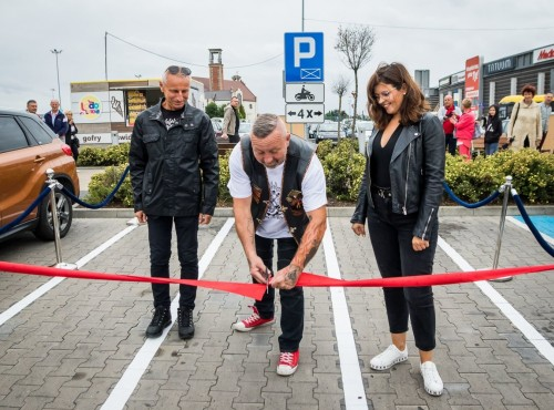 Skromna inwestycja, wielkie otwarcie - 4 miejsca parkingowe dla motocykli w Inowrocławiu