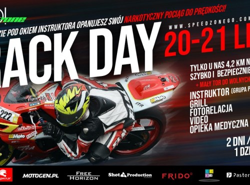 Track Day Speed Zone GO już w ten weekend!