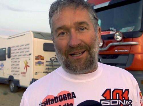 Rafał Sonik pozdrawia czytelników Ścigacza i zaprasza na dłuższy wywiad