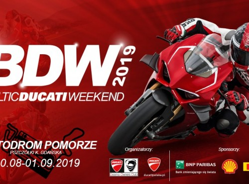Baltic Ducati Weekend - święto fanów Ducati już w sierpniu