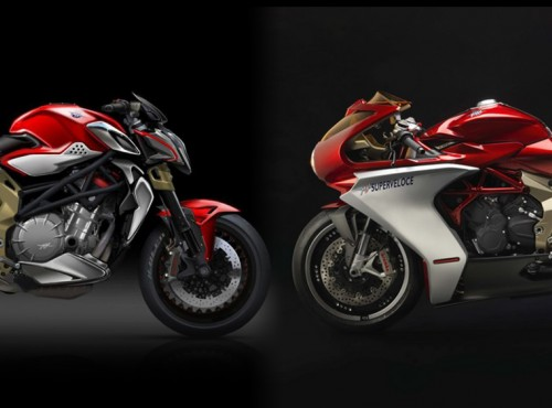 21 szybkich baniek - duży sukces dwóch limitowanych modeli MV Agusty