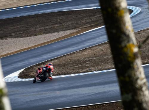 Pierwszy dzień testów MotoGP na nowym torze Kymiring w Finlandii