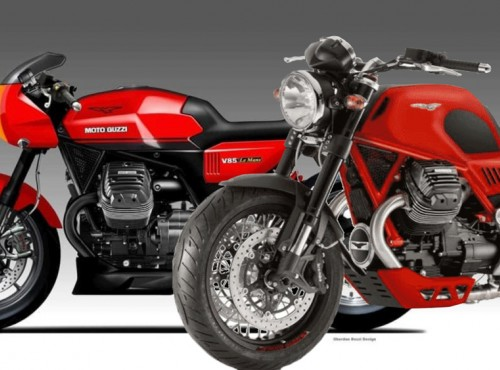 V85 Roadster, a może V85 Le Mans? Moto Guzzi chce wykorzystać chwilę sławy