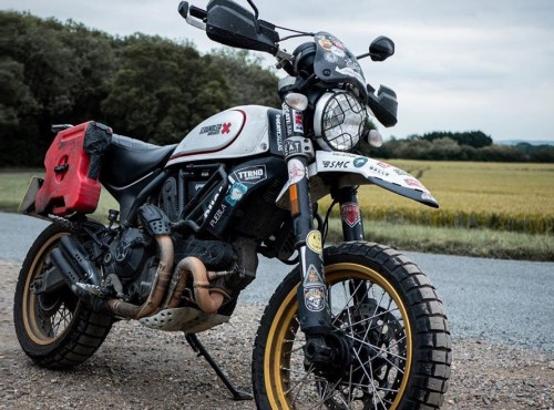 Skradziono motocykl słynnego podróżnika, który objechał nim świat