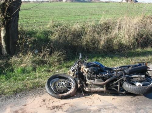 70. latka wjechała w grupę motocyklistów na Dolnym Śląsku. 10 poszkodowanych