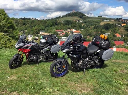Yamahy Tracer 700 i 900 GT na słowackich drogach - braci się nie traci [RELACJA]