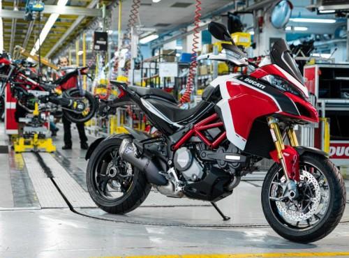 Sto tysięcy egzemplarzy - kamień milowy w historii Ducati Multistrady