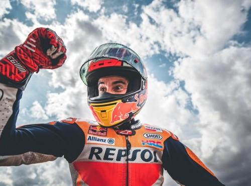 Marquez wygrywa w swoim 200. starcie na MotorLand Aragon