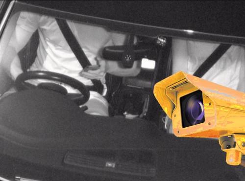 Korzystasz z telefonu podczas jazdy? Wielki brat cię wypatrzy!