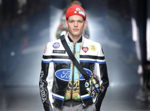 Kurtka motocyklowa Versace w cenie motocykla. Czy są tutaj jacyś chętni?