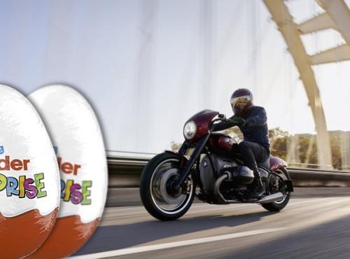 BMW R18. 1000 euro za jajko z niespodzianką