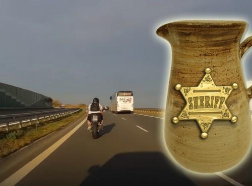 Dzban i szeryf. Kontrowersyjny pojedynek na drodze S19 [FILM]