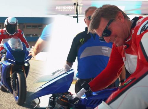 Sparaliżowany mistrz Wayne Rainey pojechał motocyklem po raz pierwszy od 26 lat!