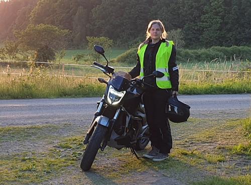 Szwecja: niepełnosprawna motocyklistka walczy z bezdusznymi przepisami