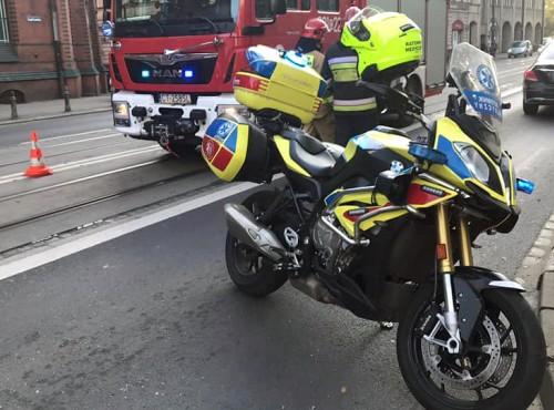 Bydgoszcz: prawie 400 interwencji. Niezwykły motocykl, który ratuje życie