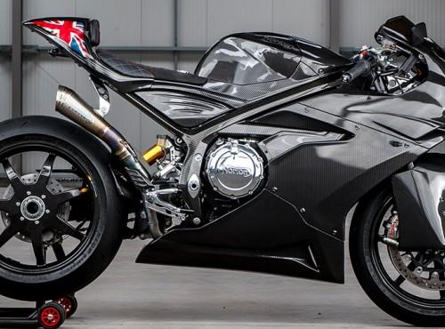 Norton Superlight SS - mocny i super lekki motocykl za ćwierć miliona