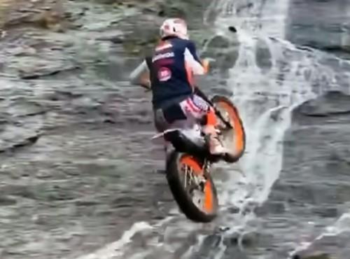 Trial na wodospadzie - tylko dla orłów. I mew. I pelikanów [FILM]