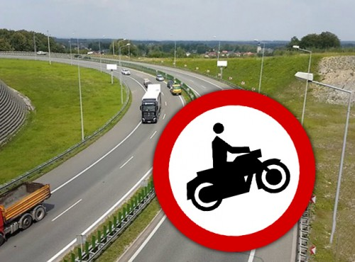 Mandat za wjazd motocyklem na obwodnicę - radykalny pomysł gminy