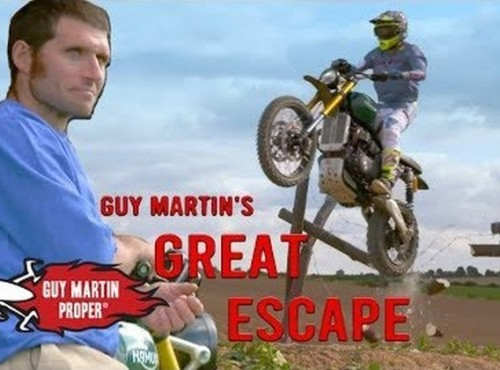 Guy Martin i wielki skok - zwiastun [WIDEO]