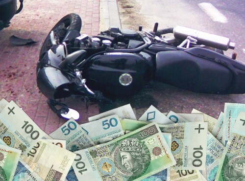 83 miliony złotych dla motocyklisty poszkodowanego w wypadku