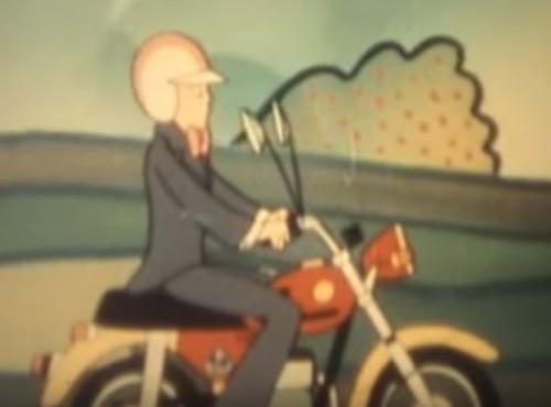 Najlepsza reklama motocykla - WSK z lat 70. Jeździłbyś?