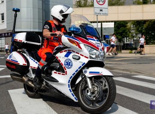Rewolucja w ochronie zdrowia. Motocykle trafią do systemu ratownictwa medycznego