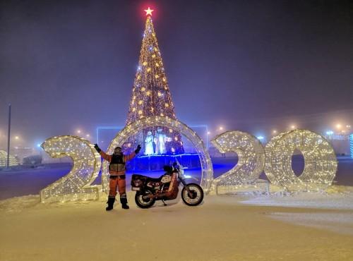 White Wolf - Śniegiem po oczach, dotarł przy - 50 stopniach do Jakucka! [FILM]
