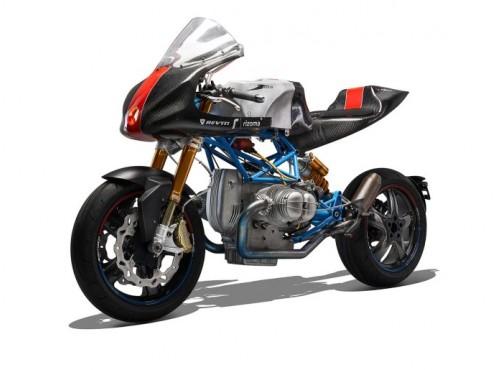 Nowoczesne technologie i klasyczny silnik - wyścigowy custom BMW