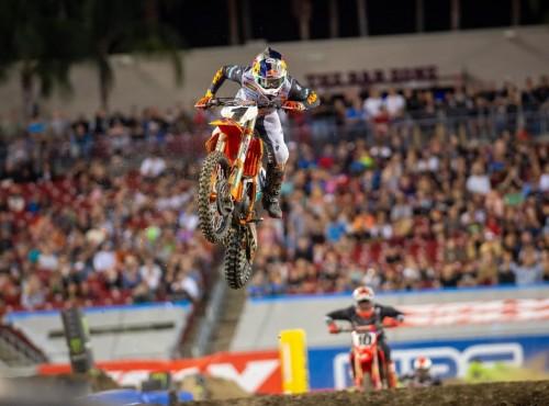 AMA Supercross: wyniki pierwszej rundy na wschodzie - Tampa [VIDEO]