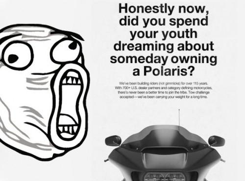 Harley-Davidson drze łacha z Indiana w internetowej reklamie [VIDEO]