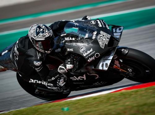 MotoGP: Aleix Espargaro prawie popłakał się z radości jadąc nową Aprilią
