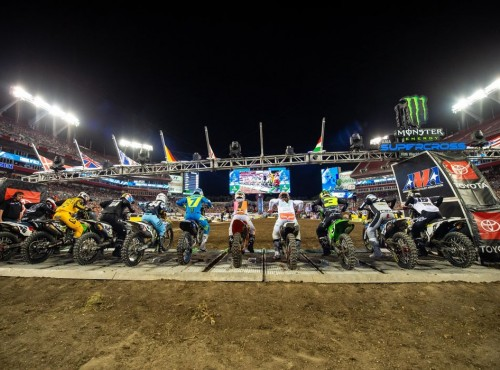 AMA Supercross: listy i tor na Triple Crown w Arlington