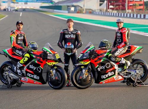 MotoGP: prezentacja Aprilii, nowe szaty RS-GP i aż trzech kierowców [GALERIA]