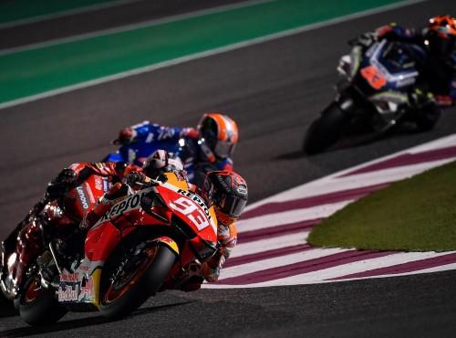 MotoGP: ostatnie przedsezonowe testy w Katarze. Szybkie Yamahy i Suzuki, nowy patent Ducati