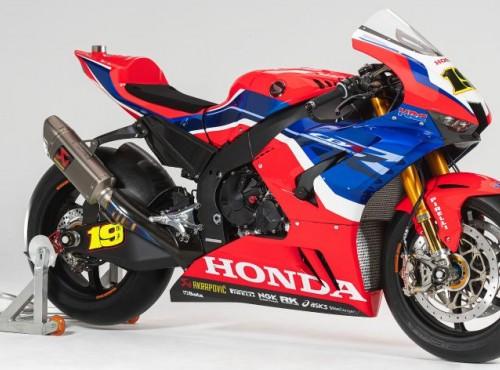 WSBK: Honda zaprezentowała barwy nowej CBR1000RR-R Fireblade SP [GALERIA]