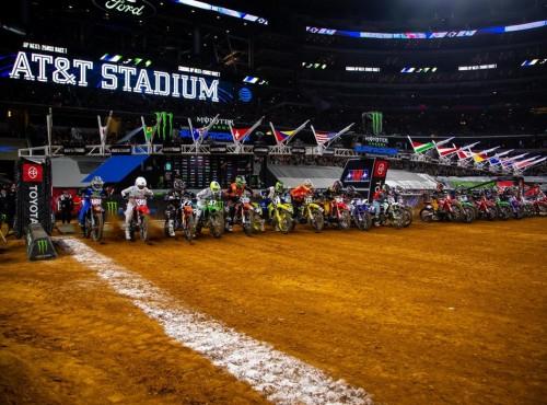AMA Supercross: tor w Atlancie i listy startowe