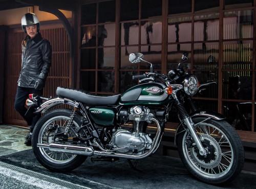 Kawasaki W800: opis, dane techniczne, cena - zobaczysz go na targach WMS 2020!