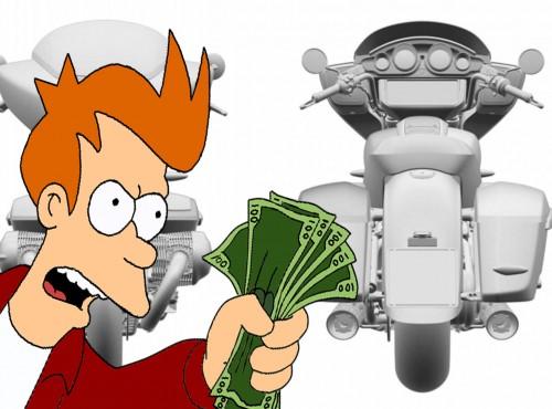 Motocykl R18 w wersji bagger - BMW opatentowało wizualizacje