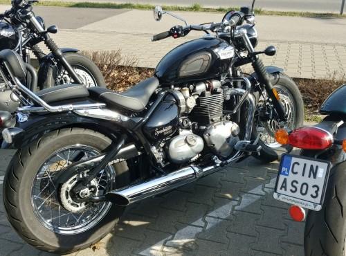 Triumphy Bobber Black i Speedmaster - testowe motocykle czekają na was