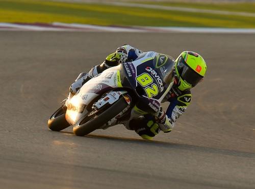 Stefano Nepa z Moto3 jeździ w kaskach MT Helmets