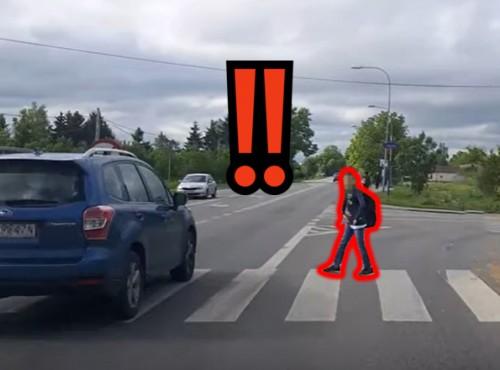 Stracisz prawko za wyprzedzanie przed przejściem. Ważna propozycja drogowców