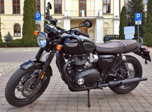 Triumph Bonneville T120 Black 2020 - test, opis, opinia, cena, pierwsze wrażenia