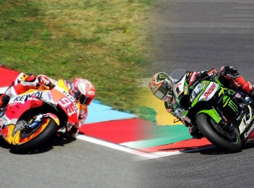 O ile motocykl MotoGP jest szybszy od superbike'a? Okrążenie toru Jerez z Marquezem i Rea [VIDEO]