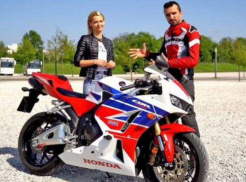 Honda CBR 600 RR z lat 2013-2016 (film, opinia)