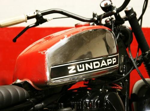 Kawasaki Zundapp. Custom stworzony w hołdzie dla historycznej marki