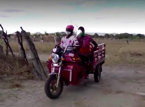 Motocykle na wynajem pozwalają kobietom z Zimbabwe wyjść z ubóstwa