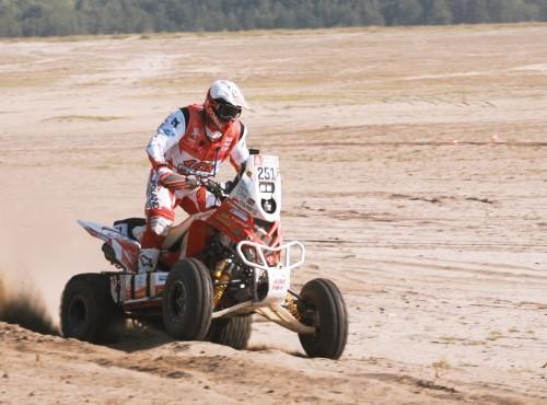 Rafał Sonik rozpoczął treningi przed Rajdem Dakar 2021