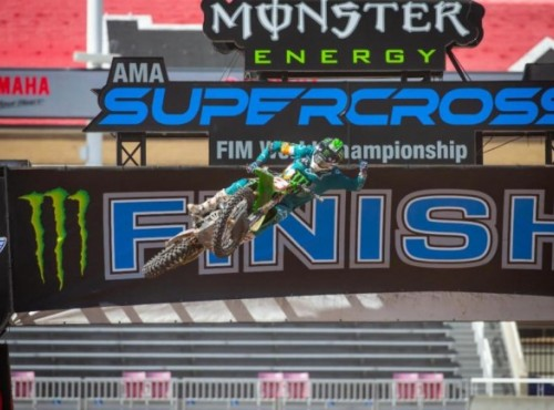 AMA Supercross: wyniki pierwszej rundy w Salt Lake City [VIDEO]