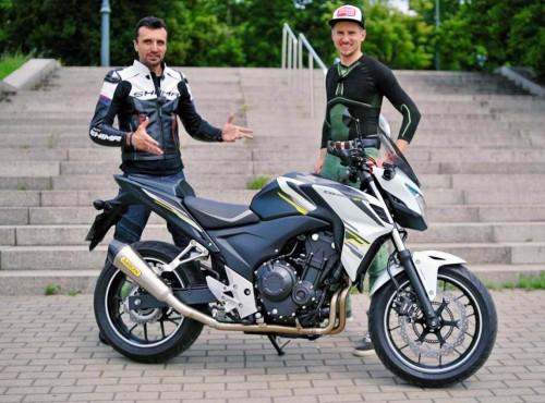 Używana Honda CB 500F (2015) - wady, zalety, opinia użytkownika [FILM]